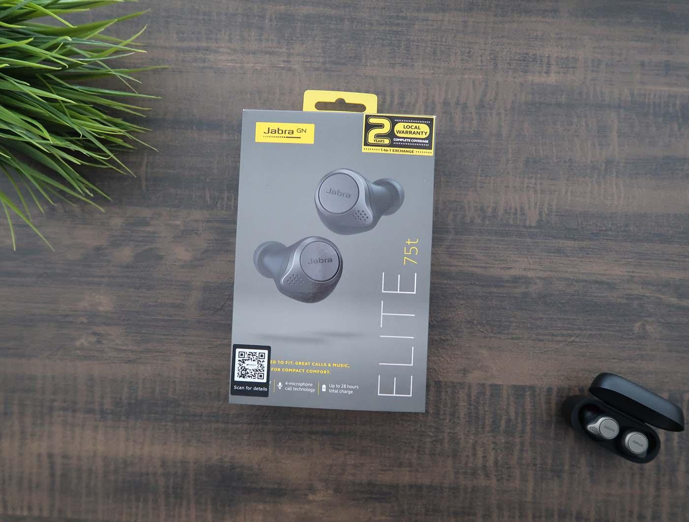 Review Jabra Elite 75t True Wireless Earbuds Tech Jio